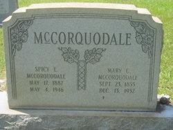 Mary Catherine <I>McLeod</I> McCorquodale