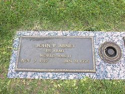 John Pershing Abney