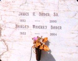 Shirley <I>Thierry</I> Baker