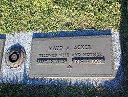Maud Azel <I>Fitt</I> Acker