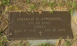 Charlie G Apperson