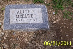 Alice F McElwee