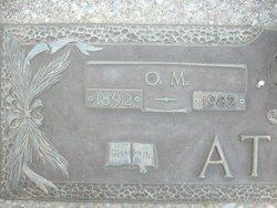 "Olin McCord ""O. M."" Atkins"