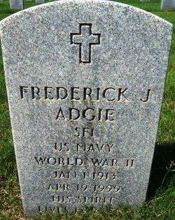 """Frederick J """"Fred"""" Adgie"""