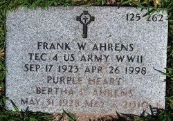 Frank William Ahrens