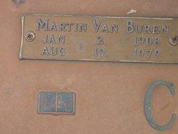Martin Van Buren Cooley