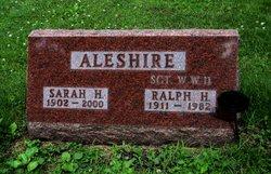 Sgt Ralph H. Aleshire