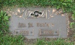 Ina M Border