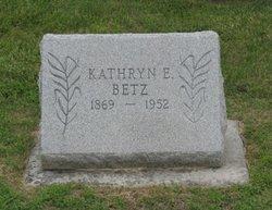 "Kathryn E ""Katie"" <I>Hocker</I> Betz"