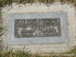 Gladys <I>Jurries</I> Rudeck-Kain