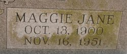 Maggie Jane <I>Maddox</I> Franklin