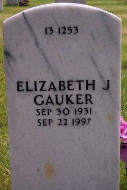 Elizabeth J Gauker