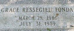 Grace L <I>Ressegieu</I> Fonda