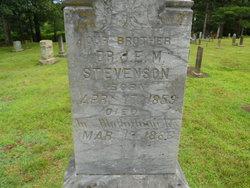 Dr James Eli McFarland Stevenson