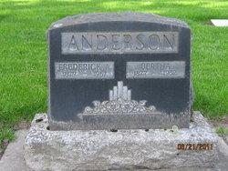 Bertha <I>Bye</I> Anderson