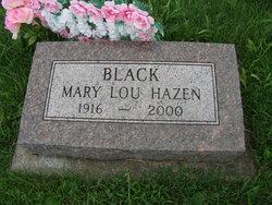 Mary Lou <I>Hazen</I> Black