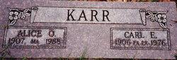 "Carl E ""Shorty"" Karr"