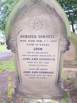 Rebecca <I>Samuel</I> Bennett