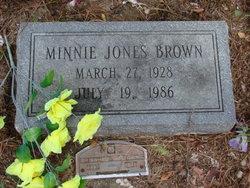 Minnie <I>Jones</I> Brown