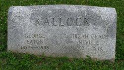 Tirzah Grace <I>Neville</I> Kallock