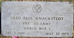 Fred Paul Knackstedt