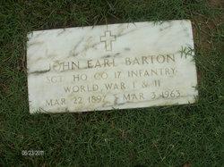 John Earl Barton