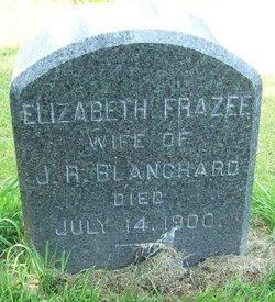 Elizabeth <I>Frazee</I> Blanchard