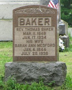 Rev Thomas Baker