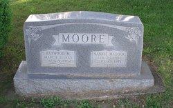 Nannie <I>Maddox</I> Moore