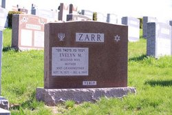 Evelyn M. <I>Shear</I> Zarr