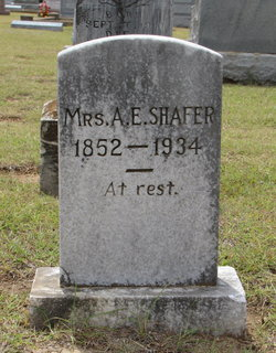 Anna Eliza <I>Hobson</I> Shafer