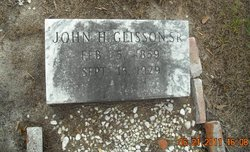John Harmon Glisson, Sr