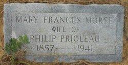 Mary Frances <I>Morse</I> Prioleau