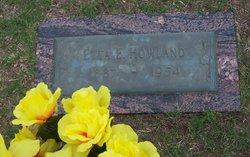 Etta E <I>Dillon</I> Howland