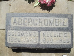 Nellie Susanna <I>Morris</I> Abercrombie