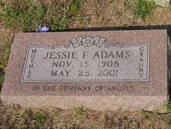 Jessie Florence <I>Newton</I> Adams