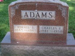 Minnie Iva <I>Brandon</I> Adams