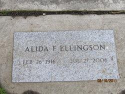 Alida <I>Beckstrom Jaeger</I> Ellingson