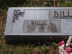 """William Edwin """"Willie"""" Billings"""