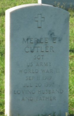 Merle E Cutler