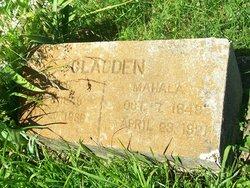 Mahala Kathrine <I>Manes</I> Gladden