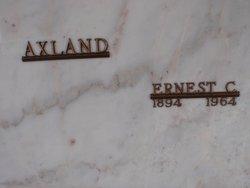 Ernest C Axland