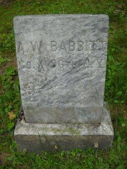 Amos Wooster Babbitt