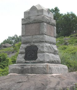 1st Michigan Sharpshooters Monument