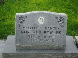 Melvalee Frances <I>Northup</I> Bowles