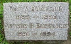 Roy W Burklund