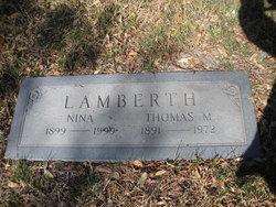 Thomas Matthews Lamberth