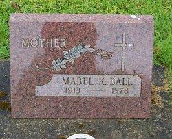 Mabel K Ball