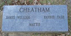 Fannie <I>Tash</I> Cheatham