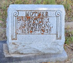 Frances Jane <I>Wolfe</I> Armstrong